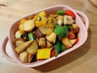 白飯殺手2👉蠔油杏鮑菇與綜合時蔬