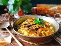 蔬食:南瓜咖哩炒米粉