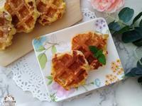 柚餡夾心鬆餅♥免泡打粉,發酵版的夾餡鬆餅