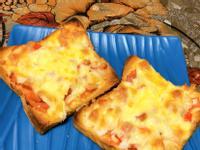 吐司版 披薩