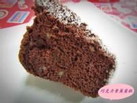 香蕉巧克力戚風蛋糕
