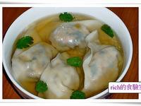 素餛飩( 青江菜餡)