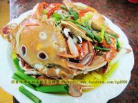 奶油洋蔥蒸螃蟹