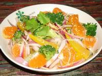 和風蜜柑彩蔬沙拉