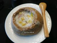 玉米濃湯麵包盅~五分鐘免揉麵包