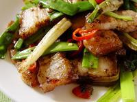 【厚生廚房】蔥爆鹹豬肉