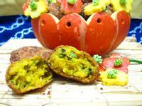 南瓜海苔可樂餅