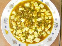 香辣麻婆豆腐(不勾芡)