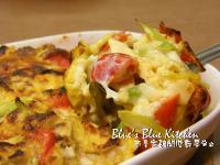 蕃茄蘆筍焗烤蛋
