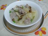 lanni 苦瓜肉丸湯