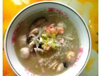 筍絲香菇海鮮粥