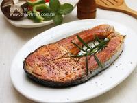 【匯鮮市集 5分鐘的海鮮料理】迷迭香鮭魚排