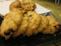 手工燕麥葡萄餅乾
