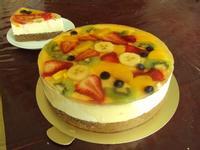 水晶水果巴伐利亞蛋糕(Fruit Bavarois)