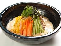 日式胡麻白醬蕎麥涼麵