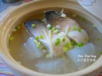 冬瓜虱目魚湯