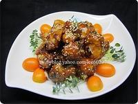 宴客菜 橙香子排