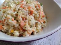 【副食品】時蔬野鮭拌飯