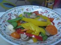 『得意的一天橄欖油』甜豆莢炒洋菇