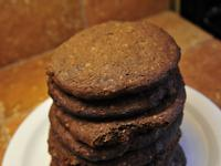 巧克力燕麥軟餅乾 | Chocolate Oat Soft Cookies