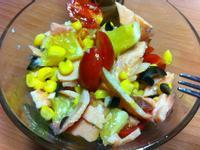 [得意的一天橄欖油]煙燻鮭魚沙拉
