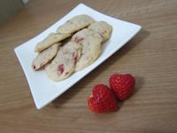 愛戀草莓餅乾