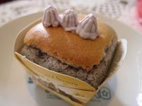 紫心地瓜杯子蛋糕