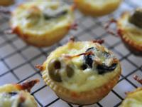 橄欖鮪魚迷你鹹派 | Olives Tuna Party Quiche