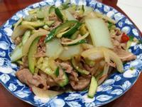 綠豆涼粉炒牛肉