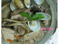 蛤蜊排骨菇菇湯