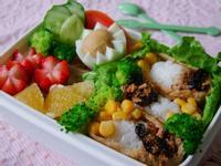 素鬆-玉米豆皮壽司