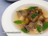 九層塔蒜頭蛤蜊湯  ♪♪快手靚湯3♪♪