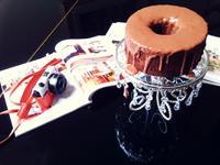 巧克力奶油霜戚風蛋糕