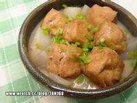 蘿蔔燉油豆腐鑲肉《燒肉+Vegi 1》