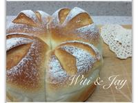 [Witi✿Kitchen]鮮奶皇冠麵包