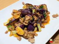 下飯的茄子料理-肉末炒茄子