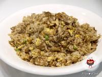 """♡宛の美好""""食""""光 ✿ 紅蔥肉燥菇菇炒飯"""