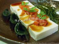 ♥憶柔蔬食♥涼拌牛番茄佐皮蛋豆腐~素食