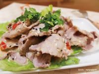 和風芝麻醬豬肉片