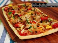 BBQ烤雞芒果義大利pizza / 脆餅
