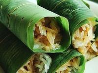 簡易糯米紅豆粽子