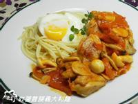 ㄚ曼達的廚房~紅醬雞腿義大利麵