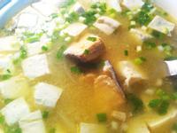 味噌鮭魚豆腐湯