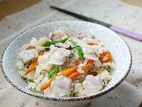 力力隨意煮-蛤蠣鮮菇炊飯