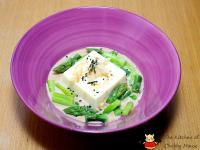 芝麻醬沙拉豆腐「桂冠夏至涼拌」