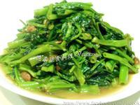 ♥憶柔蔬食♥純手工腐乳醬炒空心菜~可素食