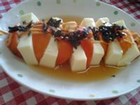 「桂冠夏至涼拌」~涼拌番茄豆腐