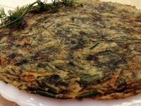 茴香煎蛋(烘蛋)