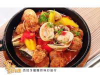 【食在好料理】西班牙臘腸蒜味炒蛤仔