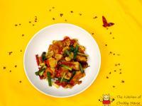 麻麻辣辣的開胃料理 - 椒麻魚片